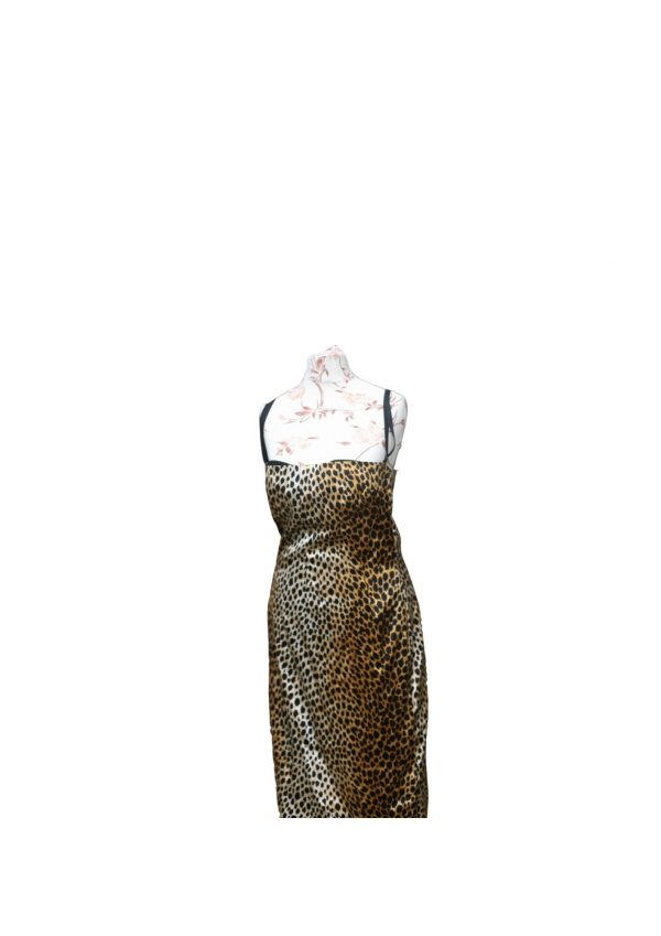 Dolce and Gabbana Preloved Leopard Print dress