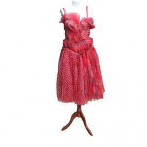 Alexander McQueen Poppy Red Dress