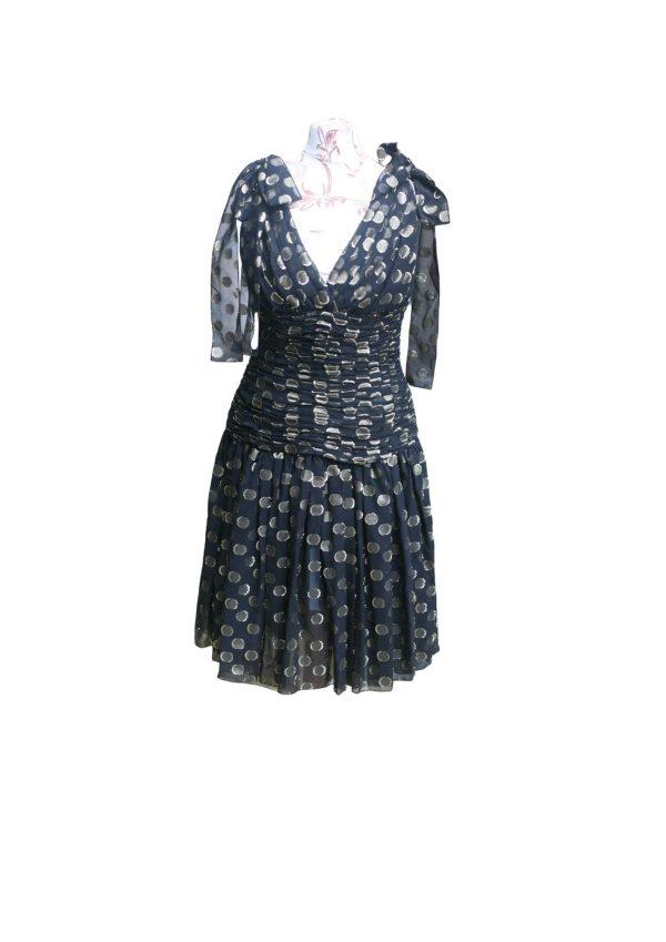 Dolce and Gabbana Polka Dot Dress