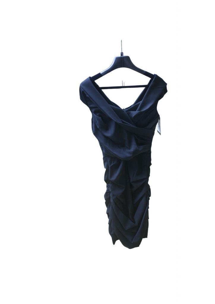 Dolce And Gabbana Silk Gathered Dress