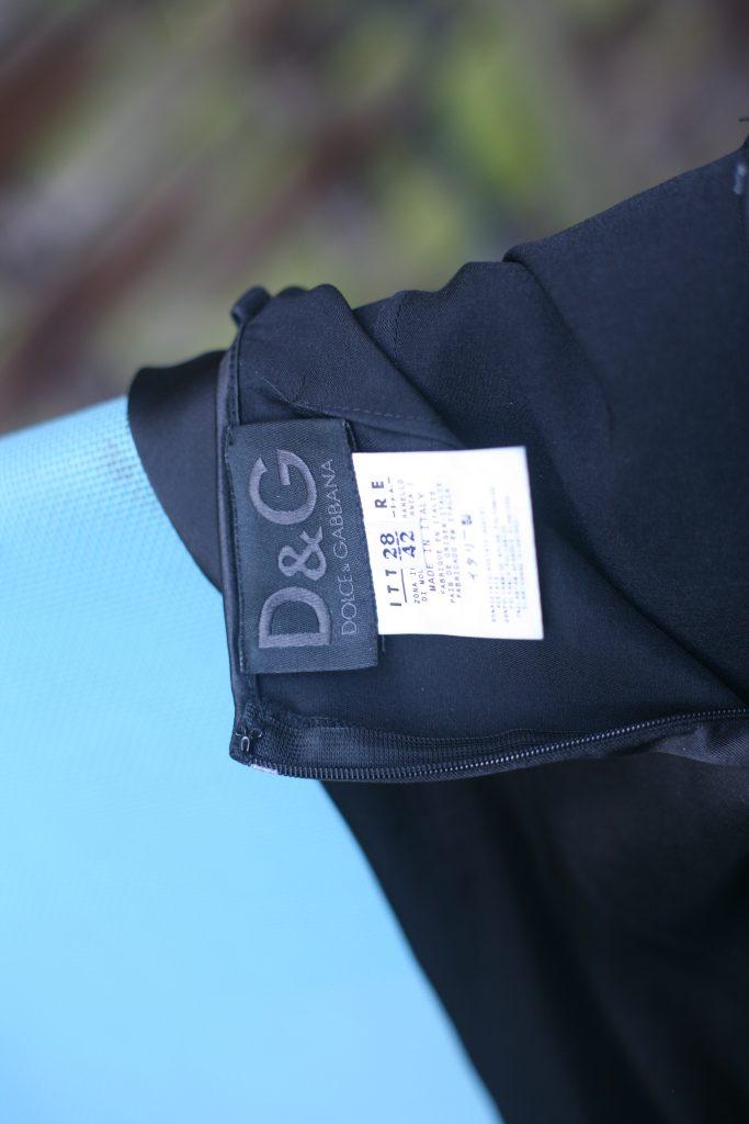 D & G Midi dress labels