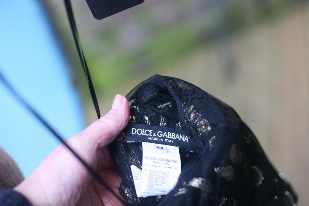 Brand label Polka Dot Dress