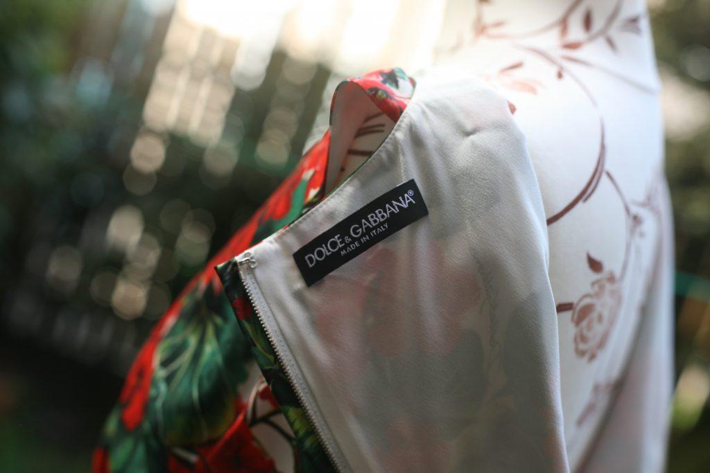 Brand Label Geranium Fringed Dress