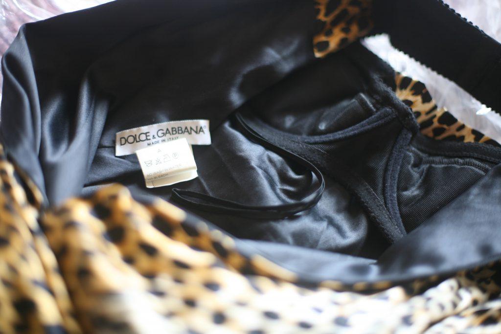 Slinky Dress Brand Label