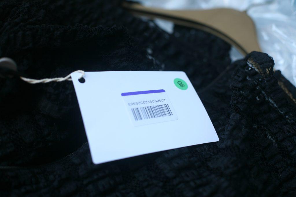 Shop Label for Lace Dress