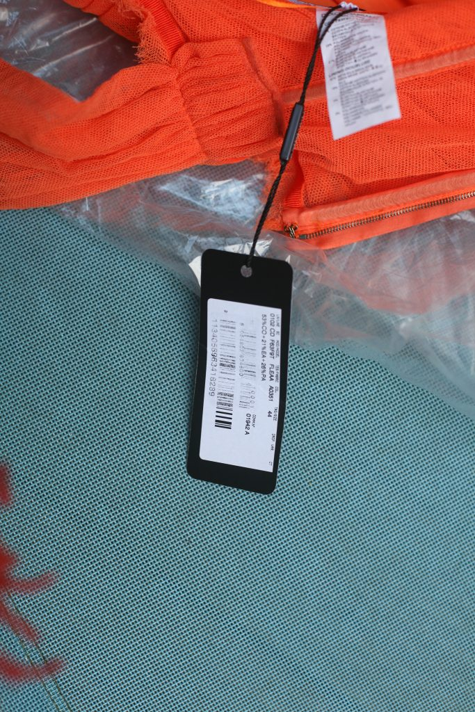 Label Orange Dolce and Gabbana Dress