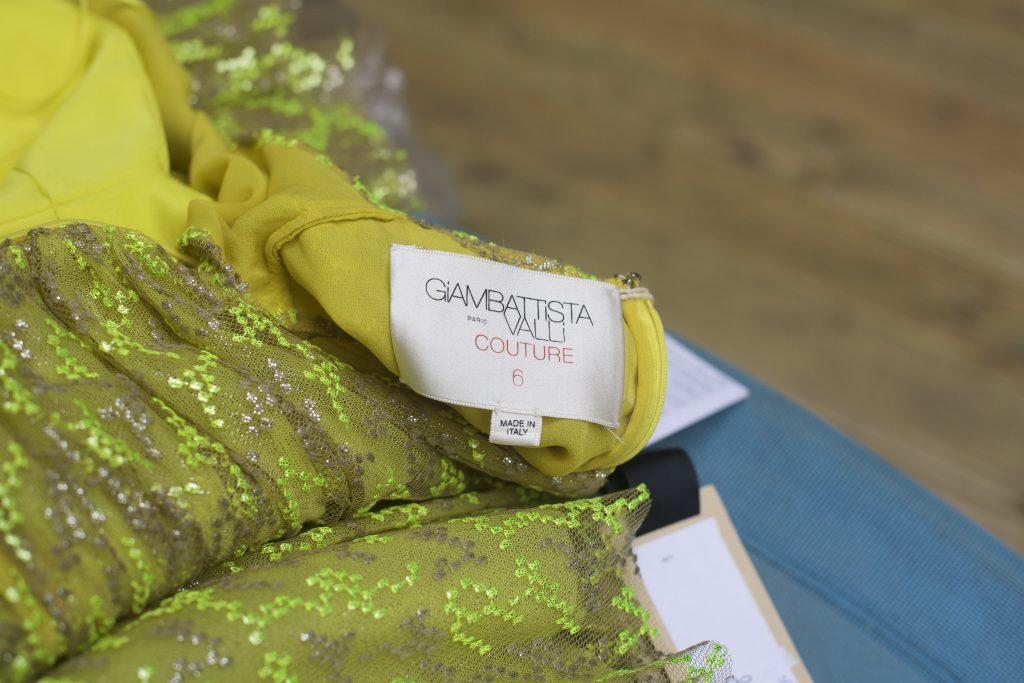 Giambattista Couture Green Dress