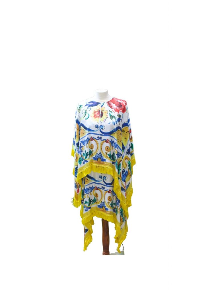 Dolce And Gabbana Yellow and Blue Dress